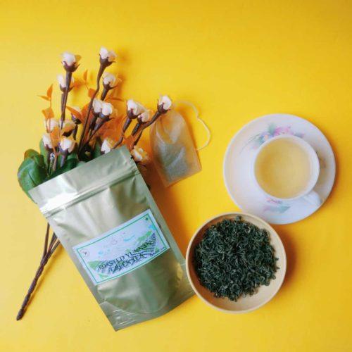 organic roasted green tea RGT101