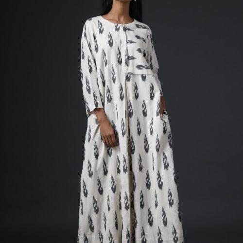 Ambara Ikat dress Front