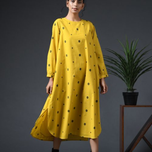 Lily polka dress Front
