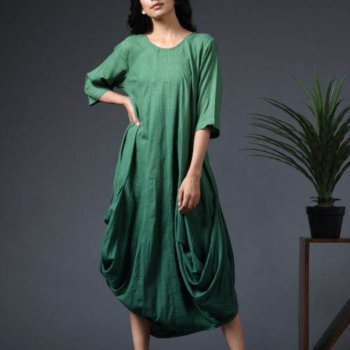 OmbrC3A9 cowl dress Front
