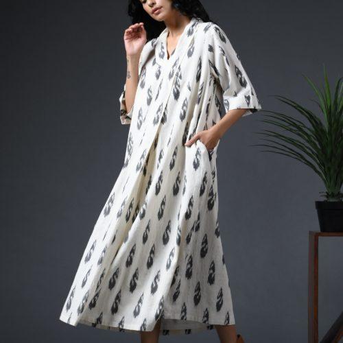 Robe dress Ikat Front