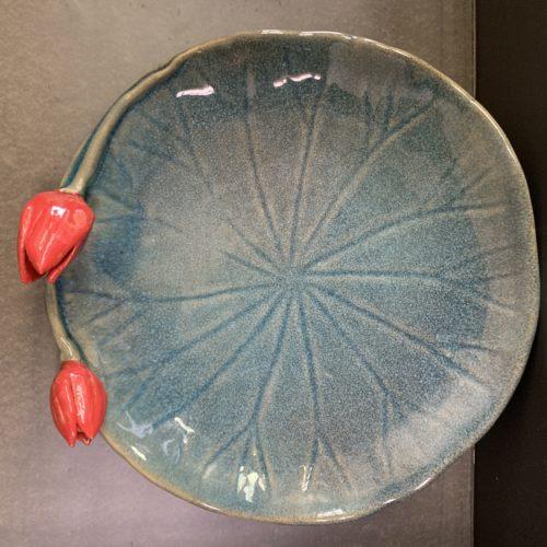3D Rose Bud Platter