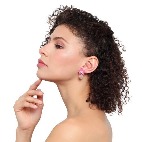 bloom earring.
