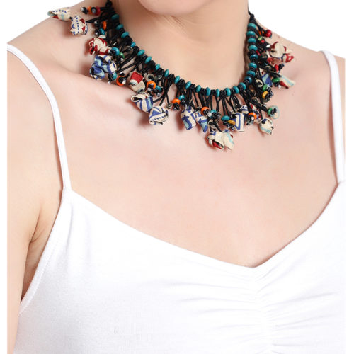 tribal cord necklace kihoy